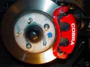 Ford Mustang COBRA brake caliper decals set stickers