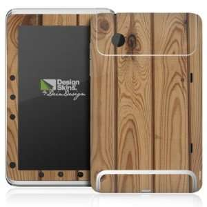 Design Skins for HTC Flyer   Holzplanken Design Folie