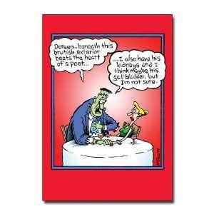 Scandalous Cartoon Valentines Day Greeting Card