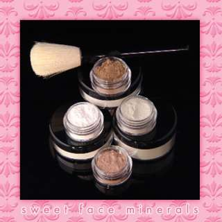 Piece QUICK FIX KIT Mineral Makeup Brushes Bare Cover