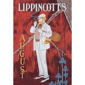poster printed on 20 x 30 stock. Lippincotts August