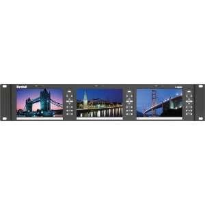 Marshall V MD503 3GSDI 5 Triple Rack Mount Monitor
