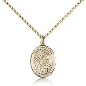 Genuine IceCarats Designer Jewelry Gift Gold Filled St. Margaret Mary