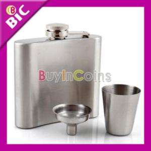 Stainless Steel Wine Kit Cup 1oz + Pot 5oz + Funnel