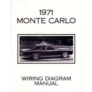 1971 CHEVROLET MONTE CARLO Wiring Diagrams Schematics Automotive