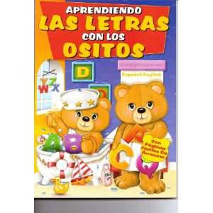 Aprendiendo las letras con los ositos: Paradise Press: Books