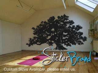 Vinyl Wall Decal Sticker Big Oak Tree 60x100