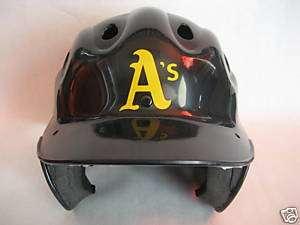 Oakland Athletics Batting Helmet Vinyl Sticker Decal