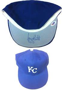 George Brett Signed Royals Baseball Hat PSA/DNA Auto
