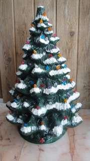 Ceramic Christmas Tree~no light kitbut assorted color bulbs