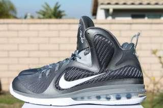 sports shoes d8316 a2804 NIKE LEBRON 9 COOL GREY SZ 10 WHITE METALLIC SILVER IX 469764 007