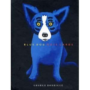 Blue Dog   Note Cards [Misc. Supplies] George Rodrigue Books