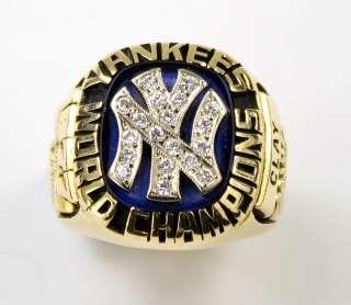 1977 New York Yankees World Series Gold Ring