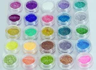 Bling Glitter Sparkle Dust Powder Nail Art Decoration Make Up
