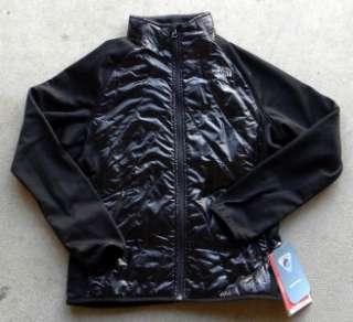 New NORTH FACE Girls Animagi Jacket Fleece Shiny Black XS 6 XL 18