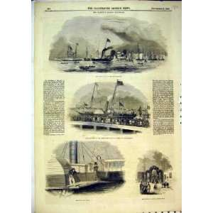 1843 Royal Yacht Queen Prince Albert Southampton War: Home & Kitchen