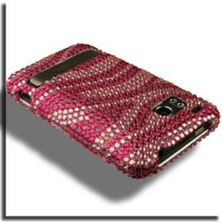 Bling Diamond Case for HTC ThunderBolt Cover A Verizon Pink Skin