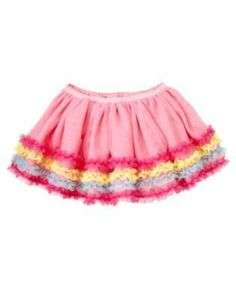 NWT Gymboree Girls Pink Birthday Shop Tulle Skirt