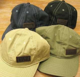 LEVIS Mens Cap/Hat   Black/Navy Blue/Olive Green/Khaki   OS