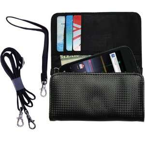 Black Purse Hand Bag Case for the Google Nexus S with both