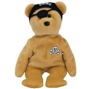 TY Beanie Baby   ROGER the Pirate Bear (Vedes Germany