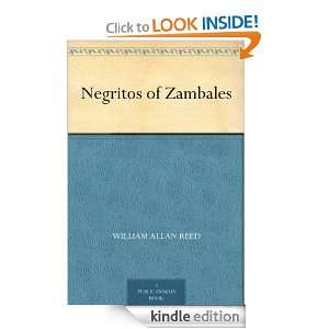 Negritos of Zambales: William Allan Reed:  Kindle Store