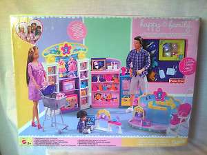 2003 HAPPY FAMILY BABY STORE PLAYSET BARBIE TOY MIDGE DOLL NEW NRFB