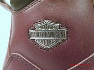 NEW MENS HARLEY DAVIDSON MOTORCYCLE BOOTS SIZE 8 M