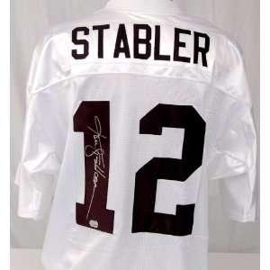 Ken Stabler Signed Raiders Jersey   Autographed NFL Jerseys
