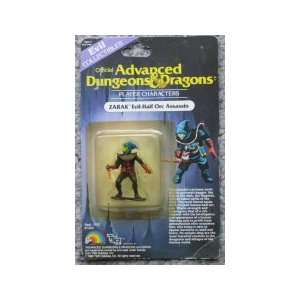 Zarak: Evil Half Orc Assassin (Advanced Dungeons & Dragons