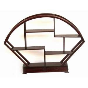 Handcraft Table Top Rosewood Display Rack DIS004
