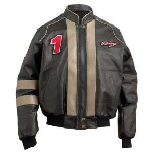 Diamond Plate Hand Sewn Pebble Grain Genuine Leather Motorcycle Jacket