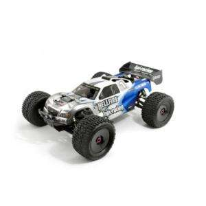 HPI 7198 DRX TRUGGY/TRUCK BODY CLEAR HELLFIRE New