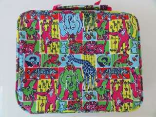 Insulated Lunch Tote Bag Box PARTYLAND PATCH Animals Monkey NEW