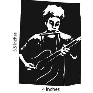 M Ward Sticker Cut Vinyl Decal