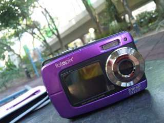 18MP underwater digital camera, Waterproof, Dual Screen, Lomo and