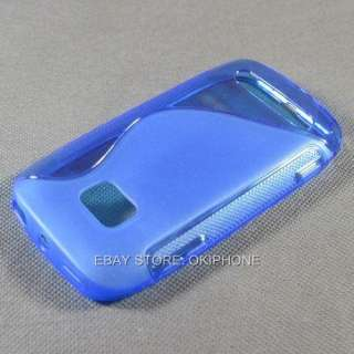 Blue New Soft Gel TPU Case Cover Skin For Nokia Lumia 710 T Mobile