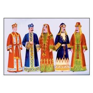 : Interchangeable Headdresses and Robes 44X66 Canvas: Home & Kitchen