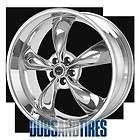 New 20 Inch American Racing TORQ THRUST M Wheels CHROME 5X115 ET20