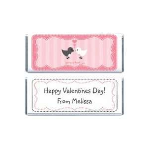 VAL207   Valentines Day Tweet Birds Candy Wrappers