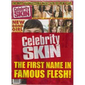 CELEBRITY SKIN MAGAZINE #186: HIGH SOCIETY MAGAZINE: Books