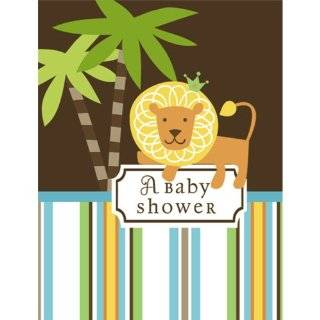 Jungle Animals Baby Shower Invitations   Set of 20 Baby