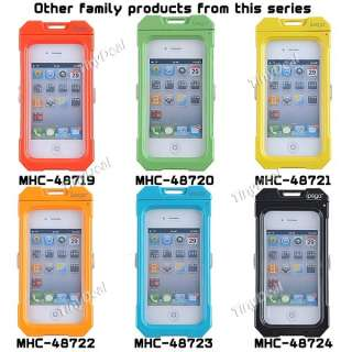 Waterproof Protective Case Cover Box for iPhone 4G 4S MHC 48724