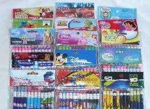 Wholesale 180 pcs Disney & Cartoon Character Pencil o)