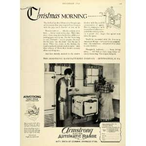 1926 Ad Black Americana Housemaid Kitchen Christmas