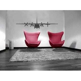 130 Hercules Military Airplane Vinyl Wall Decal Sticker Graphic By