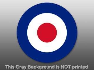 RAF Roundel Sticker   decal Royal Air Force British UK