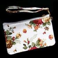 Ladies Womens Flower Coin Bag Wallet Purse Pouch Handbag Cosmetic Case