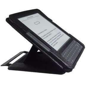 Multi View Flip Leather Case for Kindle 3 with Adjustable