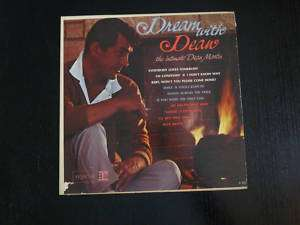 DREAM WITH DEAN THE INTIMATE DEAN MARTIN ALBUM Record